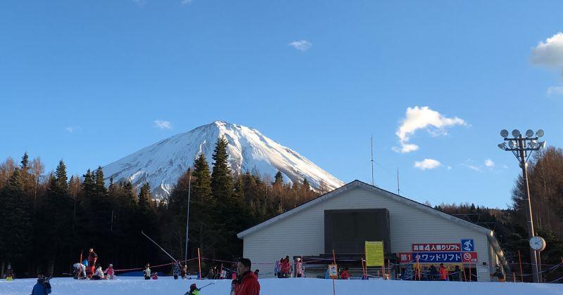 【ふじてんスノーリゾート】寝坊して午後から半日くらい滑って日帰りスキー
